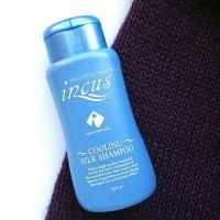 Освежающий шампунь с ментолом и протеинами шелка Incus Cooling Silk Shampoo 180мл