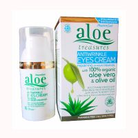 Aloe Treasures Крем-желе от морщин вокруг глаз 24 часа Алоэ 30 мл