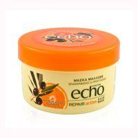 Echo Маска для всех типов волос. Восстанавливающая. банка