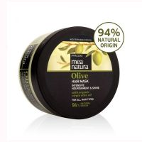Маска для волос Mea Natura для всех типов волос с оливковым маслом